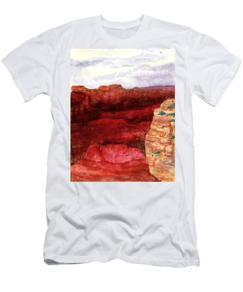 Grand Canyon S Rim Men's T-Shirt (Athletic Fit)