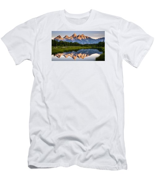 Grand Teton Awakening Men's T-Shirt (Athletic Fit)