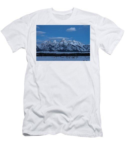 Grand Teton National Park Sunrise Men's T-Shirt (Slim Fit) by Serge Skiba