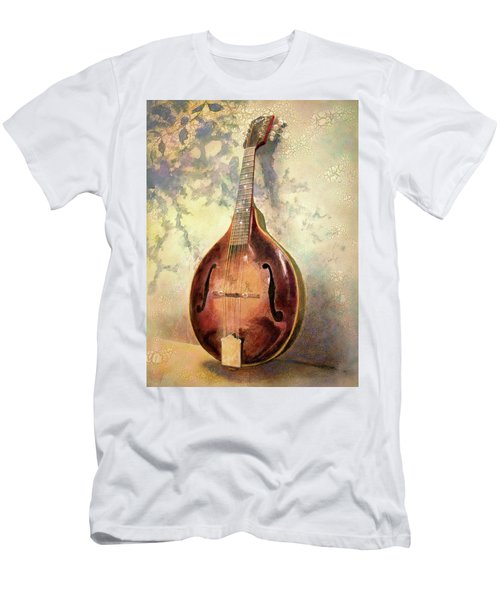 Men's T-Shirt (Athletic Fit) featuring the painting Grandaddy's Mandolin by Andrew King