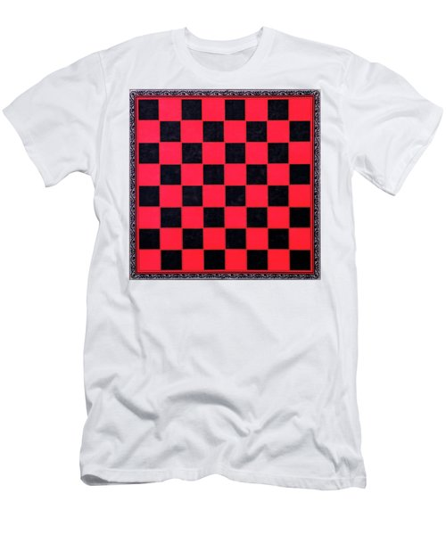 Grandpa's Checkerboard Men's T-Shirt (Athletic Fit)