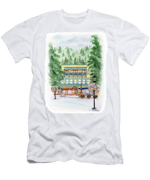 Granite On The Plaza Men's T-Shirt (Athletic Fit)