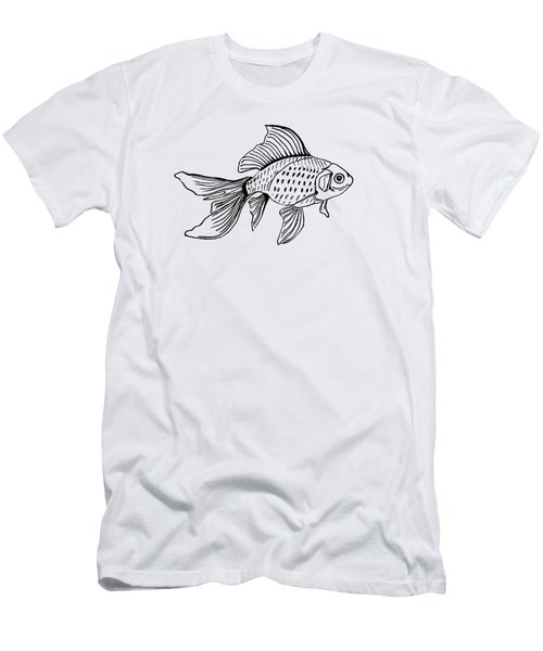 Graphic Fish Men's T-Shirt (Athletic Fit)