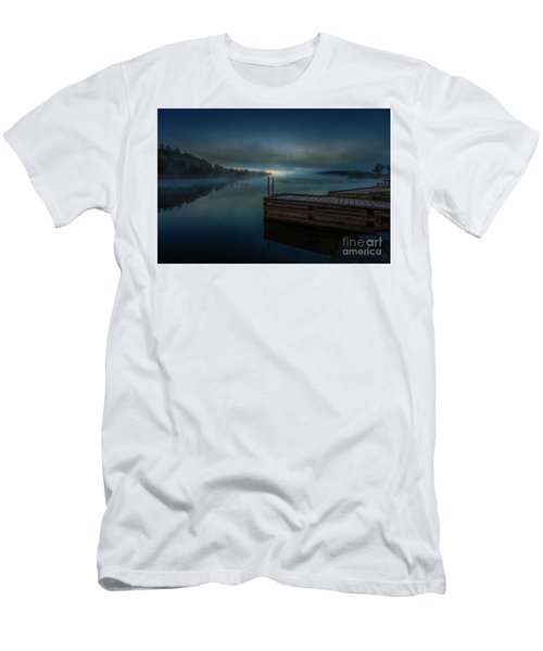 Grass Creek Sunrise 1 Men's T-Shirt (Athletic Fit)