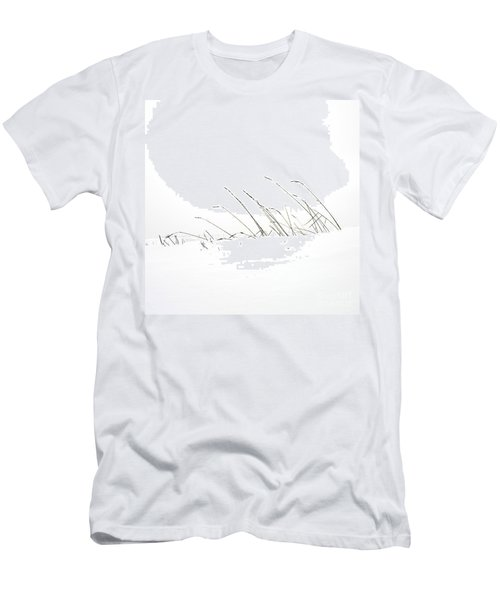 Grass In A Snow Field Men's T-Shirt (Athletic Fit)