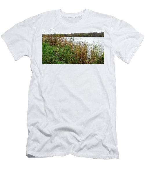 Grassy Bank Men's T-Shirt (Athletic Fit)
