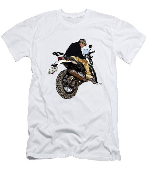Great Biker.  Men's T-Shirt (Athletic Fit)