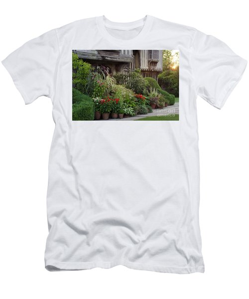 Great Dixter House And Gardens At Sunset 2 Men's T-Shirt (Athletic Fit)