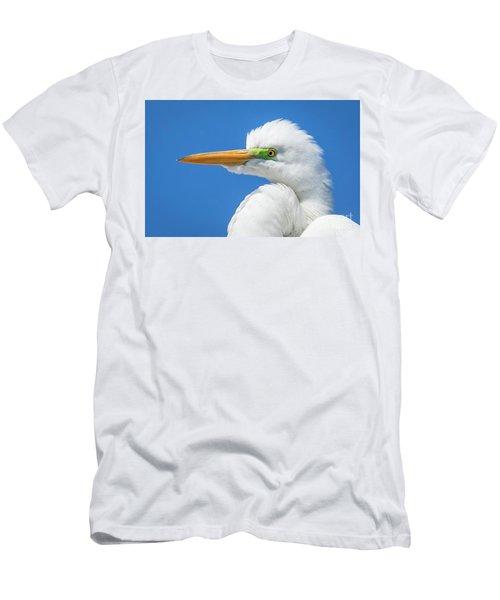 Great Egret Profile Men's T-Shirt (Athletic Fit)