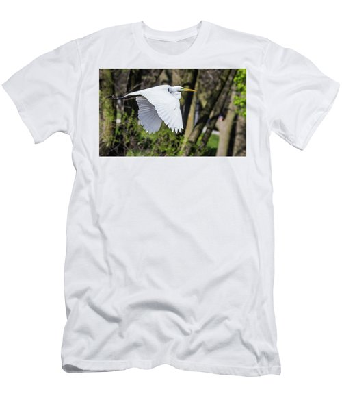 Great Egret Men's T-Shirt (Athletic Fit)