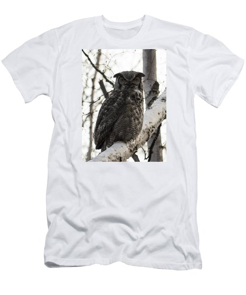 Great Horned Men's T-Shirt (Athletic Fit)