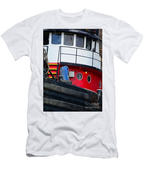 Great Lakes Tugboat Men's T-Shirt (Athletic Fit)