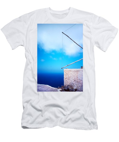 Greek Windmill Men's T-Shirt (Athletic Fit)