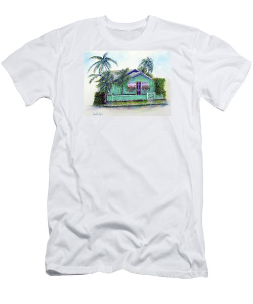 Green Cottage Men's T-Shirt (Athletic Fit)