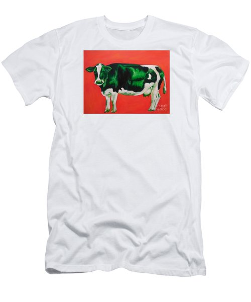 Green Cow Men's T-Shirt (Athletic Fit)