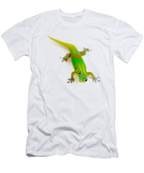 Green Gecko Men's T-Shirt (Athletic Fit)