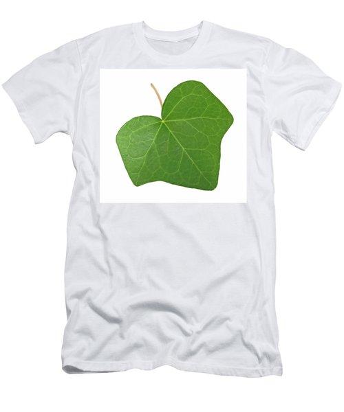 Green Ivy Leaf Men's T-Shirt (Slim Fit) by GoodMood Art