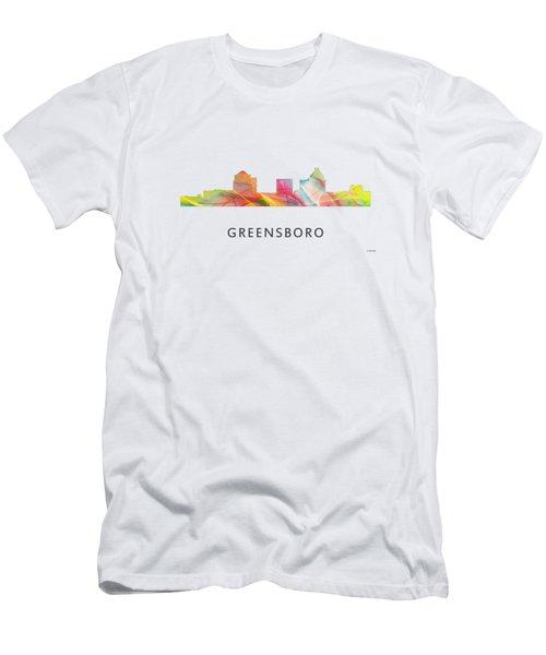 Greensboro North Carolina Men's T-Shirt (Athletic Fit)