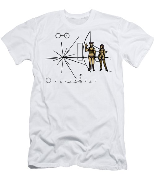 Greetings From Xxi Century Men's T-Shirt (Athletic Fit)