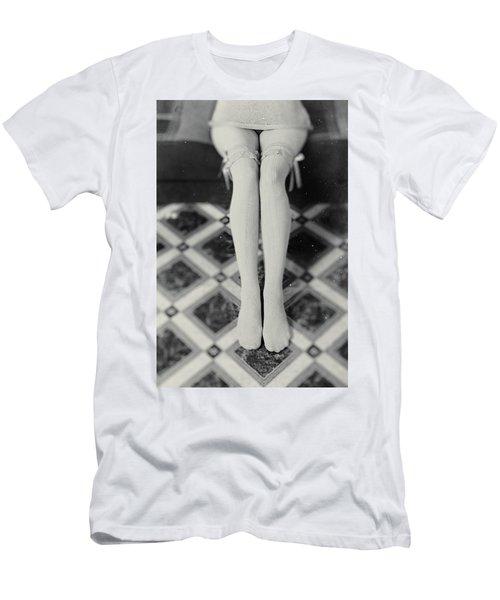 Grey Stockings #6477 Men's T-Shirt (Athletic Fit)