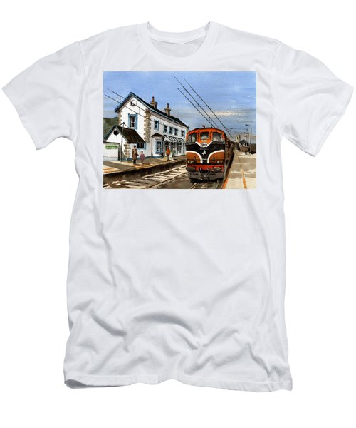 Greystones Railway Station Wicklow Men's T-Shirt (Athletic Fit)