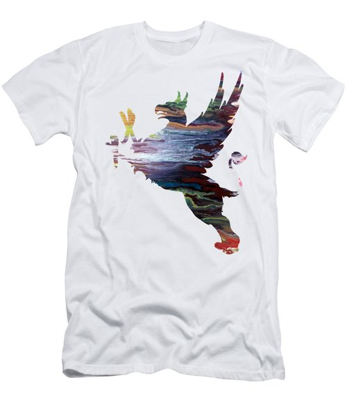 Griffon Men's T-Shirt (Slim Fit) by Mordax Furittus