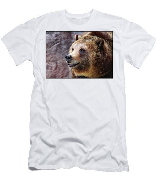 Grizzly Smile Men's T-Shirt (Athletic Fit)