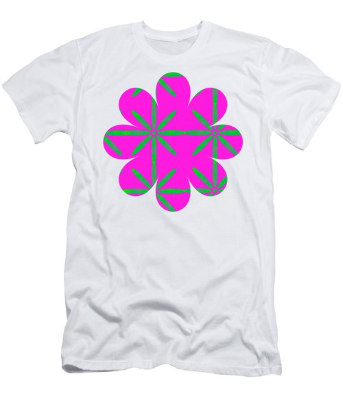 Groovy Flowers Men's T-Shirt (Athletic Fit)