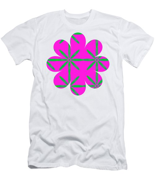 Groovy Flowers Men's T-Shirt (Athletic Fit)