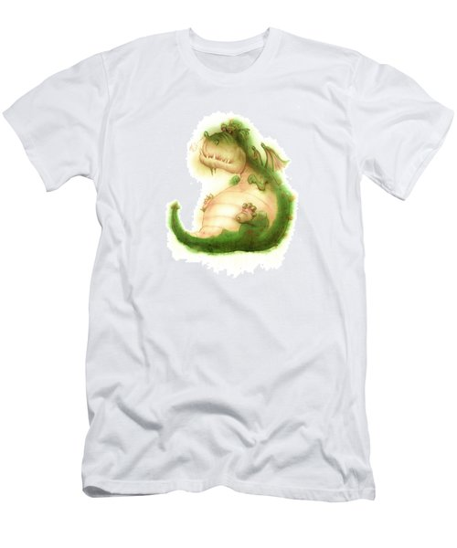 Grumpy Dragon Men's T-Shirt (Athletic Fit)