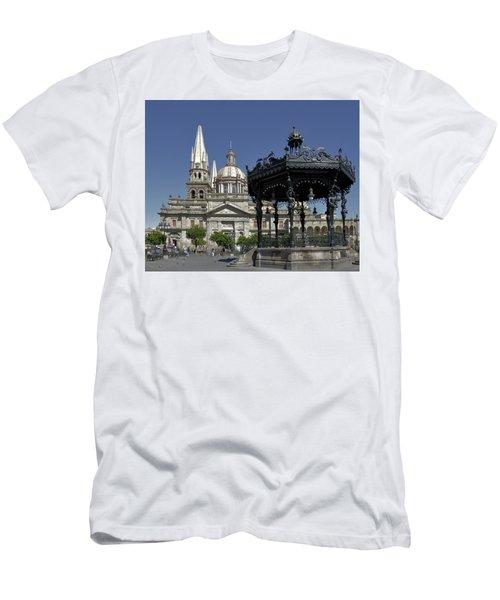Men's T-Shirt (Slim Fit) featuring the photograph Guadalajara by Jim Walls PhotoArtist