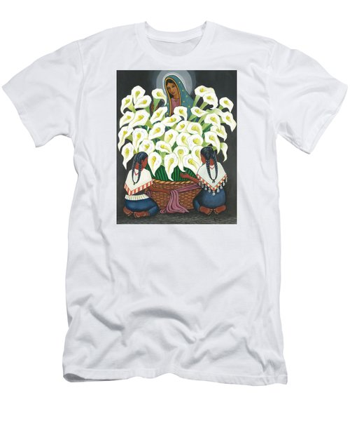 Guadalupe Visits Diego Rivera Men's T-Shirt (Athletic Fit)