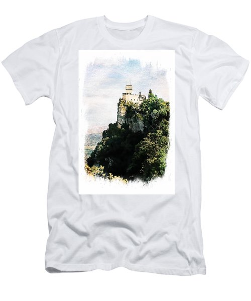 Guaita Castle Fortress Men's T-Shirt (Athletic Fit)