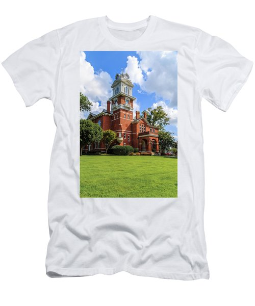 Gwinnett County Historic Courthouse Men's T-Shirt (Athletic Fit)
