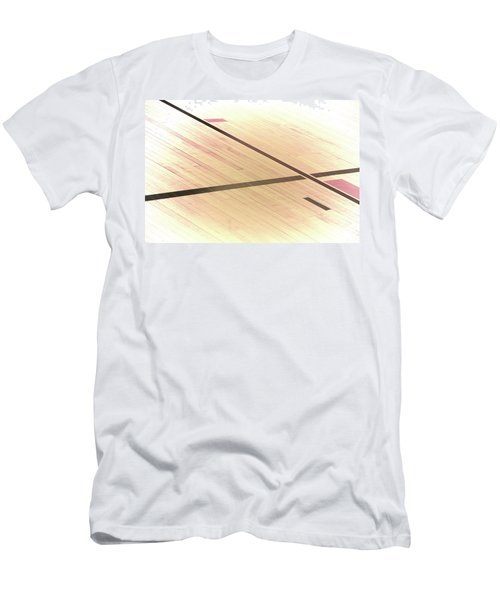 Gym Floor Men's T-Shirt (Athletic Fit)