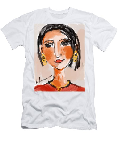 Gypsy Lady Men's T-Shirt (Slim Fit) by Elaine Lanoue