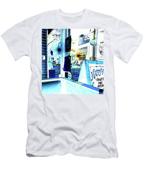 Haight Street San Francisco From 1428 Men's T-Shirt (Athletic Fit)