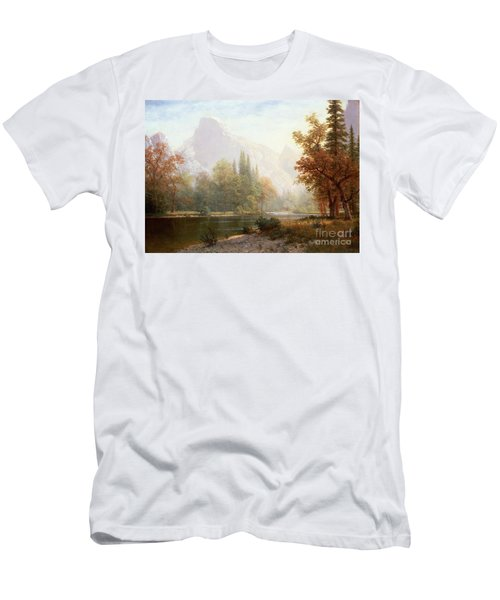 Half Dome Yosemite Men's T-Shirt (Athletic Fit)