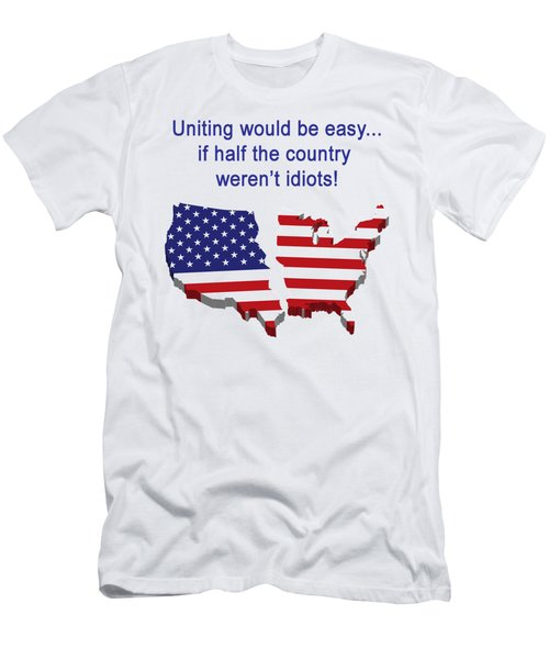 Half The Country Men's T-Shirt (Athletic Fit)
