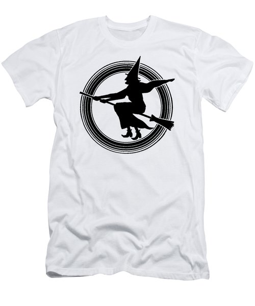 Halloween Witch Men's T-Shirt (Athletic Fit)