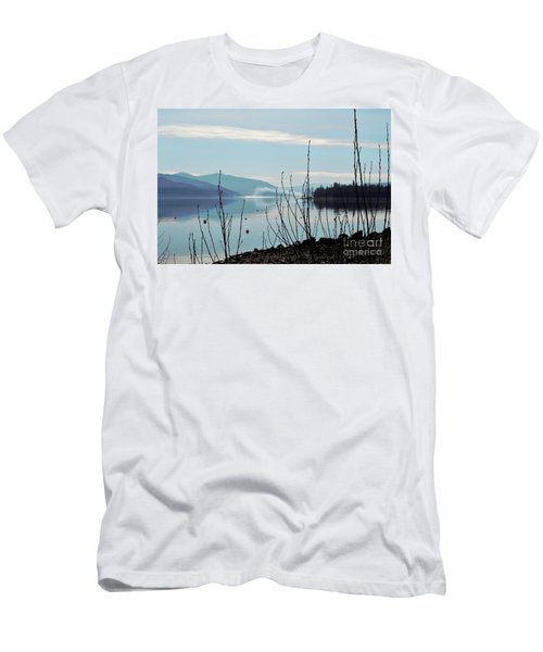 Men's T-Shirt (Slim Fit) featuring the photograph Halo On Copper Island by Victor K