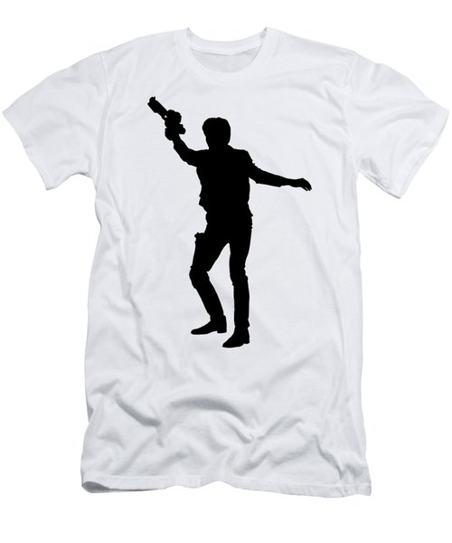 Han Solo Star Wars Tee Men's T-Shirt (Athletic Fit)