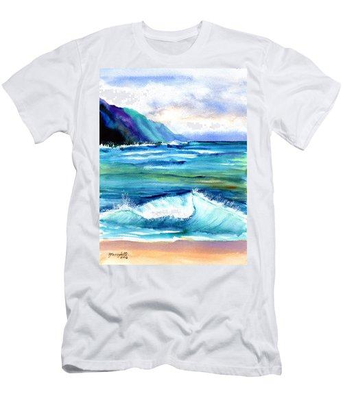Hanalei Sea Men's T-Shirt (Athletic Fit)