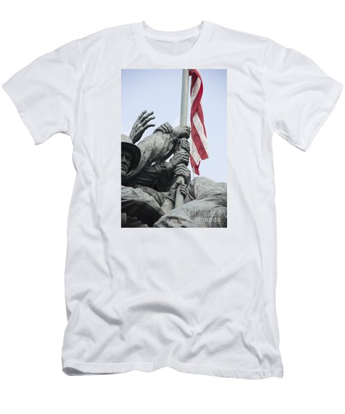 Hands Of Suribachi Men's T-Shirt (Athletic Fit)