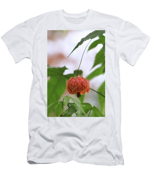 Men's T-Shirt (Athletic Fit) featuring the photograph Hanging There by Deborah  Crew-Johnson