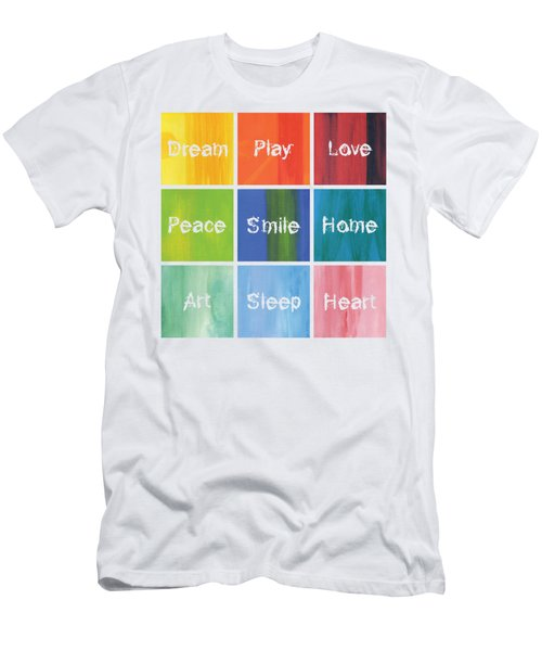 Happy 9 In 1 Men's T-Shirt (Athletic Fit)