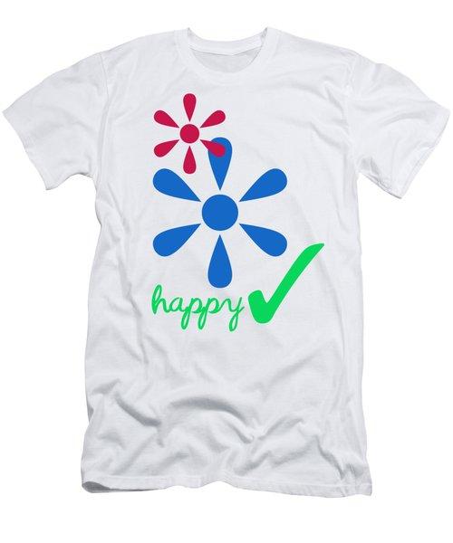 Happy Men's T-Shirt (Athletic Fit)
