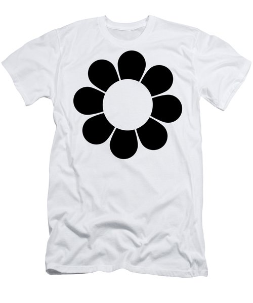 Men's T-Shirt (Athletic Fit) featuring the digital art Happy Flower  by Donna Mibus