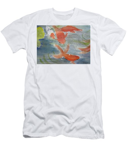 Happy Koi Men's T-Shirt (Athletic Fit)