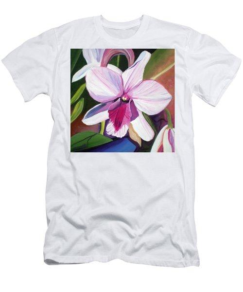 Happy Orchid Men's T-Shirt (Athletic Fit)